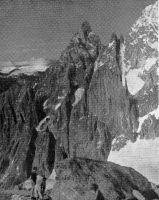 THE AIGUILLE NOIRE DE PEUTERET - from The Torino Hut