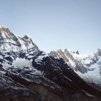 Annapurna south and Annapurna I