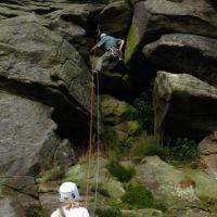 Aug 2009: Trish and Al at Bamford (Christine Stark)