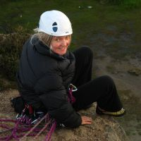 Jul 2009: Trish - rescue exercises at Hobson Moor (Christine Stark)