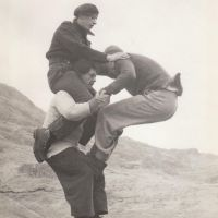 Acrobatics from the 50's