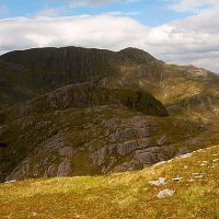 Retrospective of the marvellous twisting traverse from Luinne Bheinn to Meall Buidhe.
