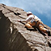 One Roger on Mitre Buttress Direct (Virginia Castick)