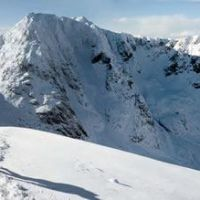 Day 8: Panorama of the North Face, Ben Nevis. (Sean Kelly)