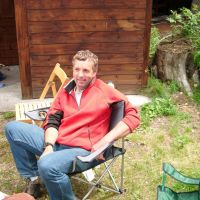 Chilling out at Camping Gran Paradiso (Colin Maddison)