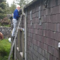 Resetting the gutters (Roger Dyke)