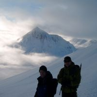 Jim, Andy and the Buachaille (Colin Maddison)