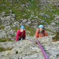 Lucie and Colin on Rowan Route (Gareth Williams)