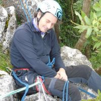 Over 60's belaying (Gareth Williams)