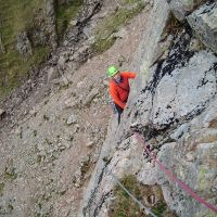 On The Slabs, Route One, White Ghyll. (Colin Maddison)