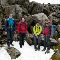 The KMC find some winter conditions! (Dave Wylie)