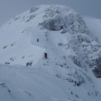 Descent from Carn Dearg via Ledge Route (Andy Stratford)