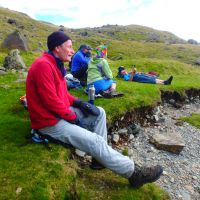Relaxing by Levers Water (Dave Shotton)