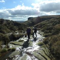 Following the headwaters of Crowden Brook (Dave Shotton)