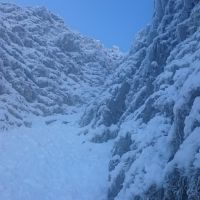 Jogebar Gully lower section - turfy! (Andy Stratford)