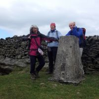 Weets Top trig point (Dave Shotton)