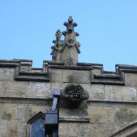 Same to you! Gargoyle on High Bradfield parish church