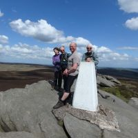 Trig point on Back Tor (Oi Ding Koy)