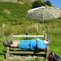 Highly Commended - John having a hard day in the hills (Virginia Castick)