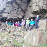 Rain fails to dampen spirits in the cave