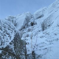 Craig Marsden, P2 The Haston Line, Coire an t-Sneachda (Colin Maddison)
