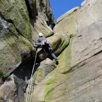 David leading the first pitch of Valkyrie (Dave Wylie)
