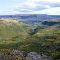 View down Crowden