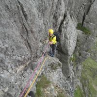 Gareth Williams, Pitch 2, Main Wall, Cyrn Las (Colin Maddison)