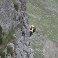 Gareth Williams, Pitch 4, Main Wall, Cyrn Las (Colin Maddison)