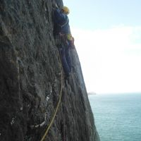 Gareth Williams, Pitch 1, A Dream of White Horses, Gogarth (Colin Maddison)