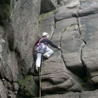 Cathy leading Prow Corner