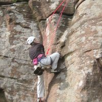 Cathy following Right Hand Route