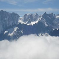 A fine view from the Aiguille Rouge (Duncan Lee)