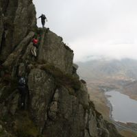 Tryfan's North Ridge (Dave Dillon)